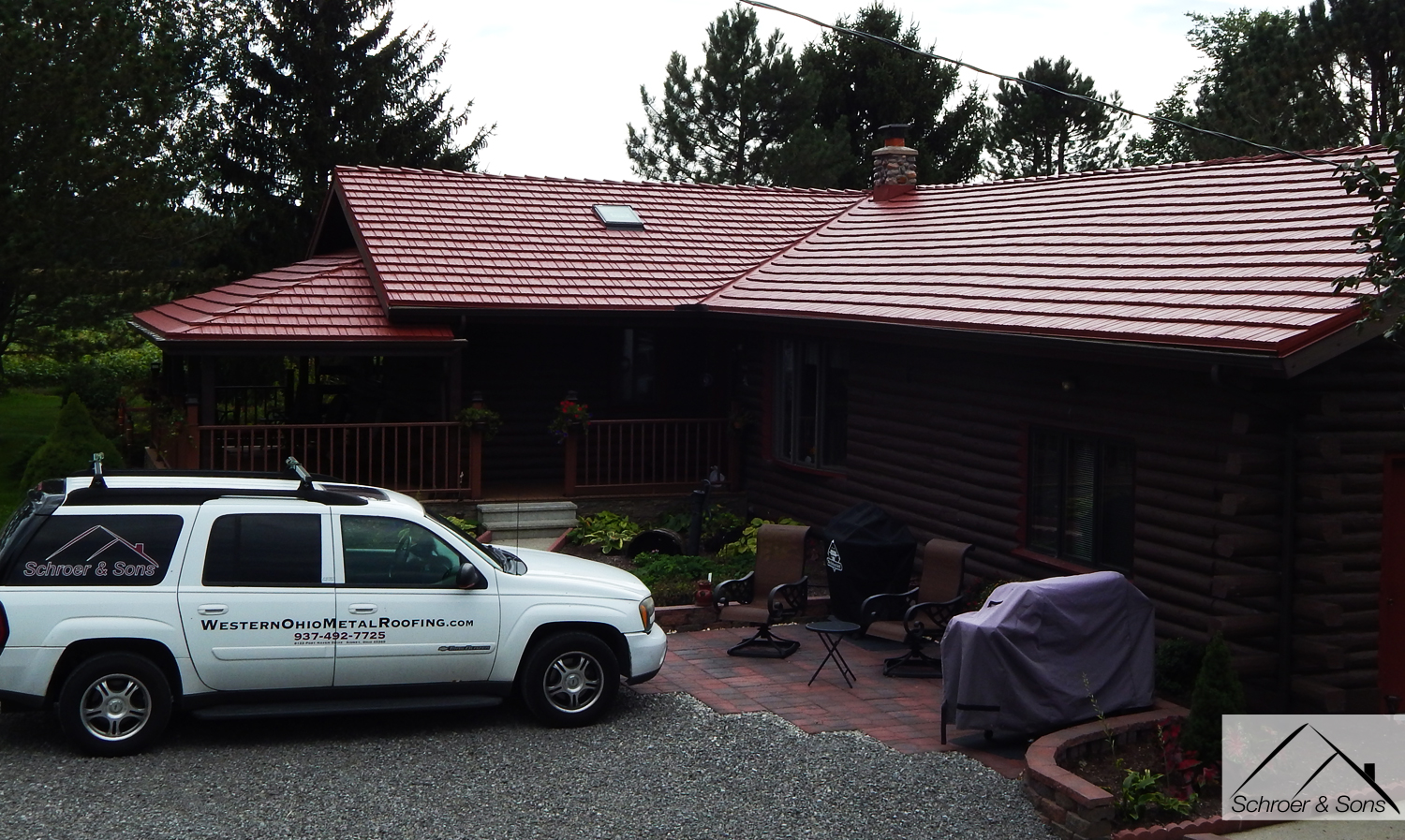 Rustic Shingle Schroer Amp Sons Central Ohio Metal Roofing