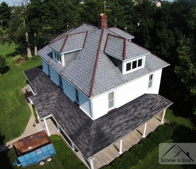 The Truth Behind Slate Roofs Schroer Amp Sons Sidney