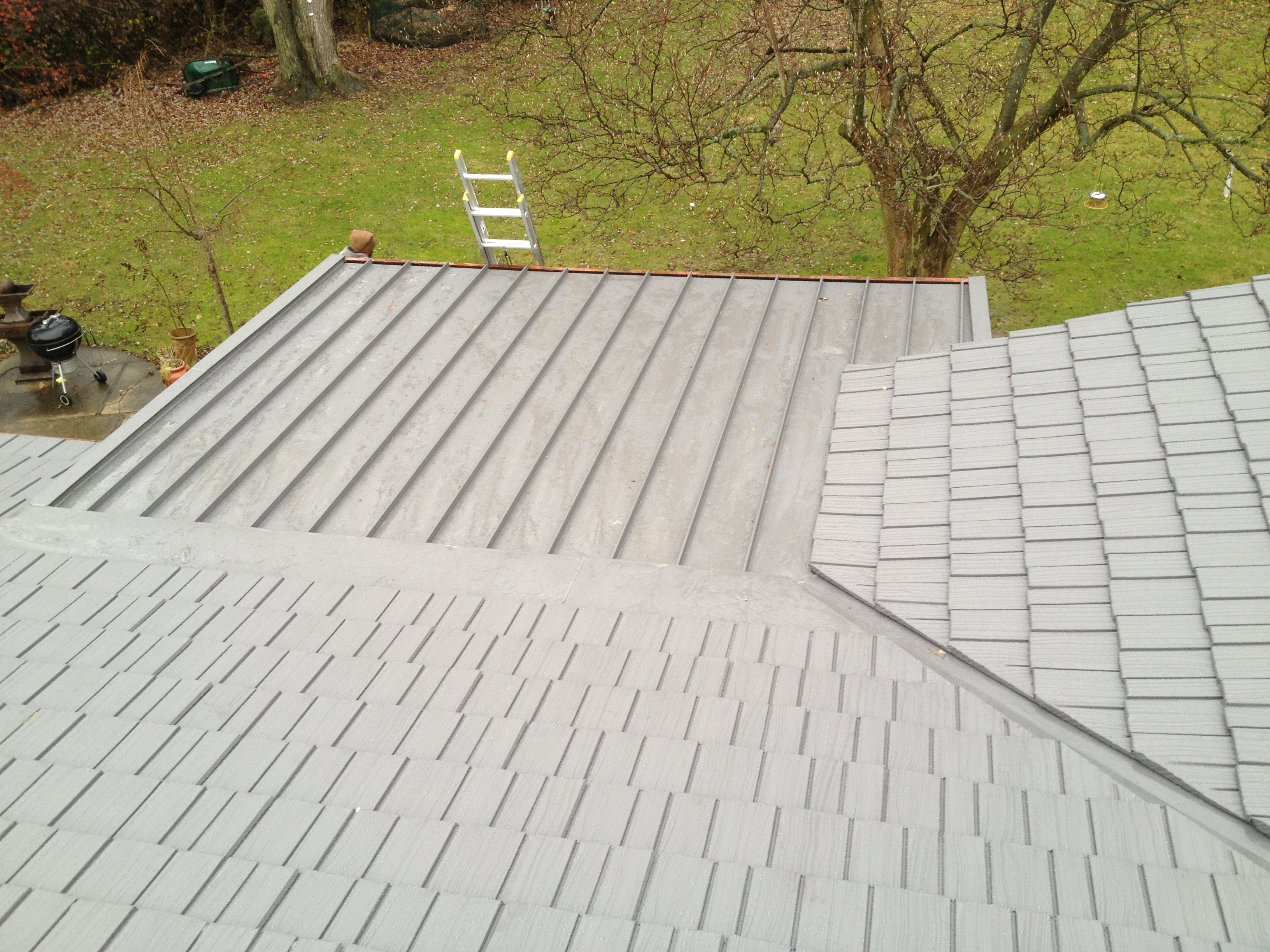 Transition From Normal Pitch To Flat Porch Schroer