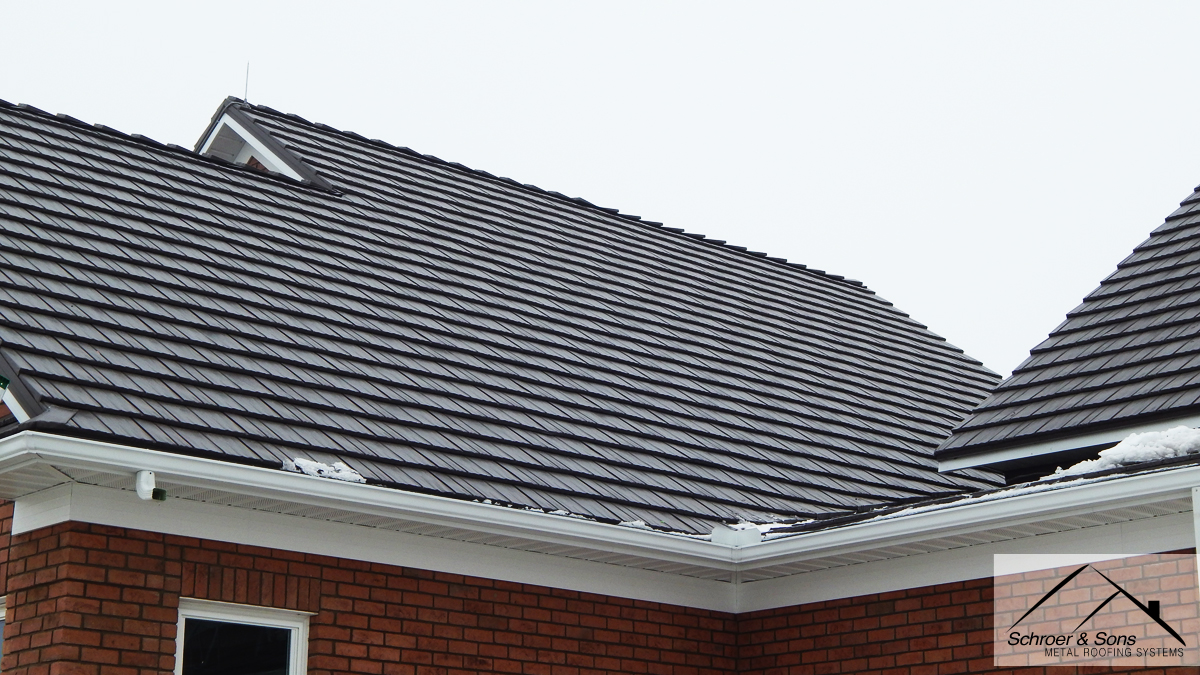Metal Roof Addition In Ft Loramie Ohio Schroer Amp Sons