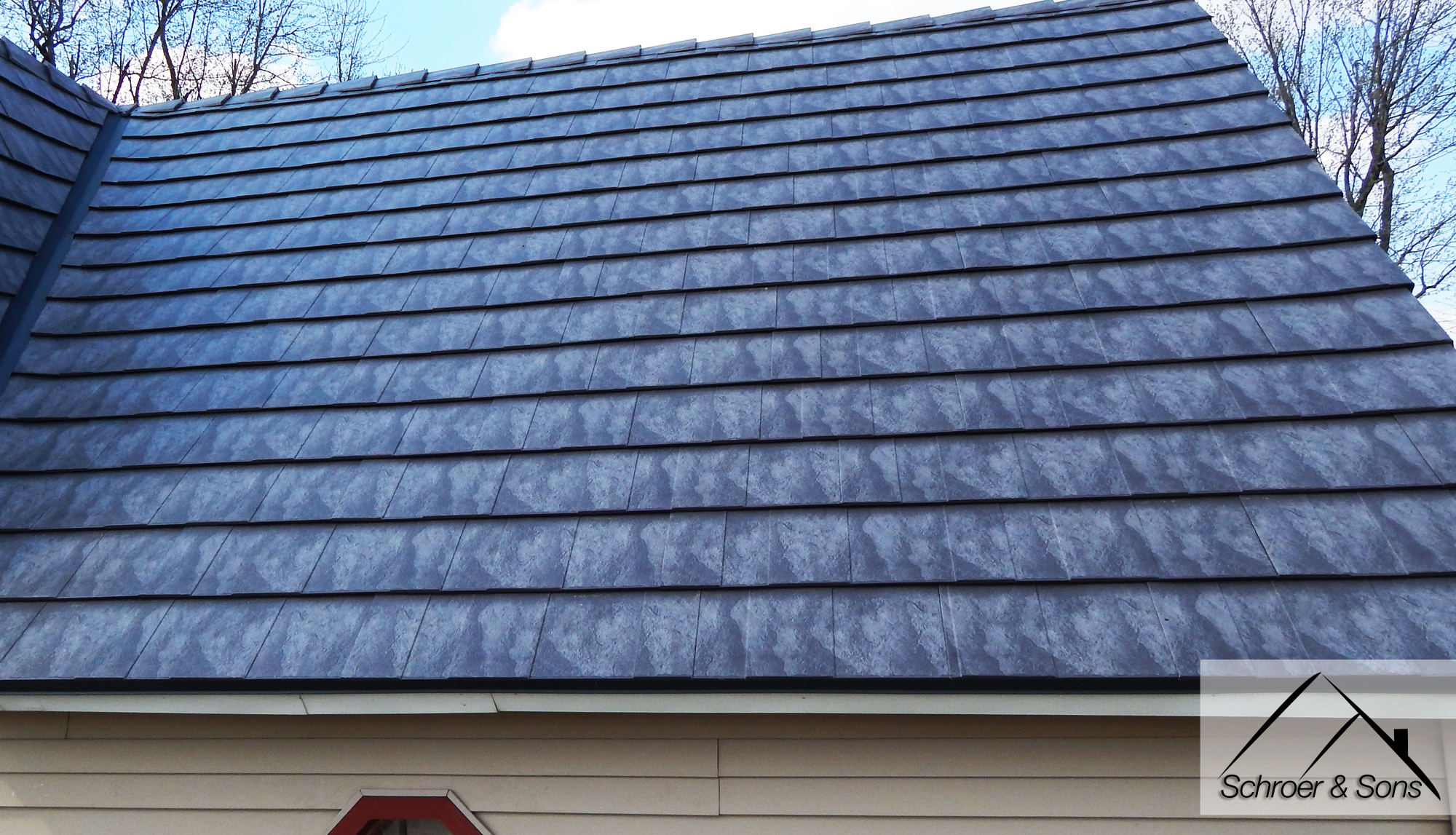 Oxford Slate Aluminum Metal Roof Schroer Amp Sons Sidney