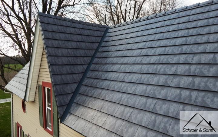 Slate Rock Oxford Metal Roof Dormer