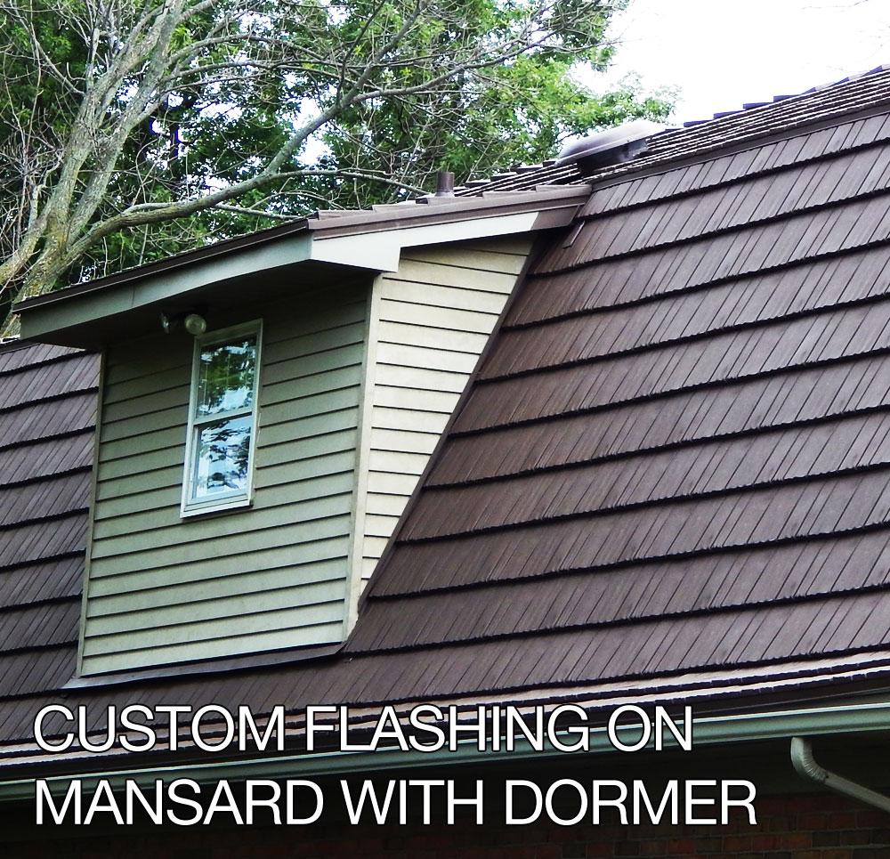 Gambrel And Mansard Metal Roof In Sidney Ohio Schroer