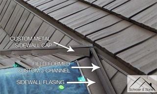 Gambrel Metal Roof