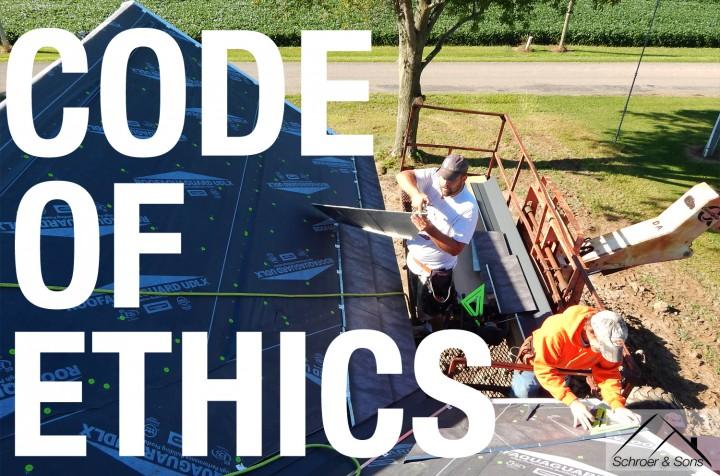 Schroer & Sons Code of Ethics