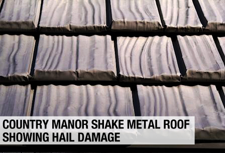 Metal Roof Amp Hail Damage Schroer Amp Sons Sidney Lima