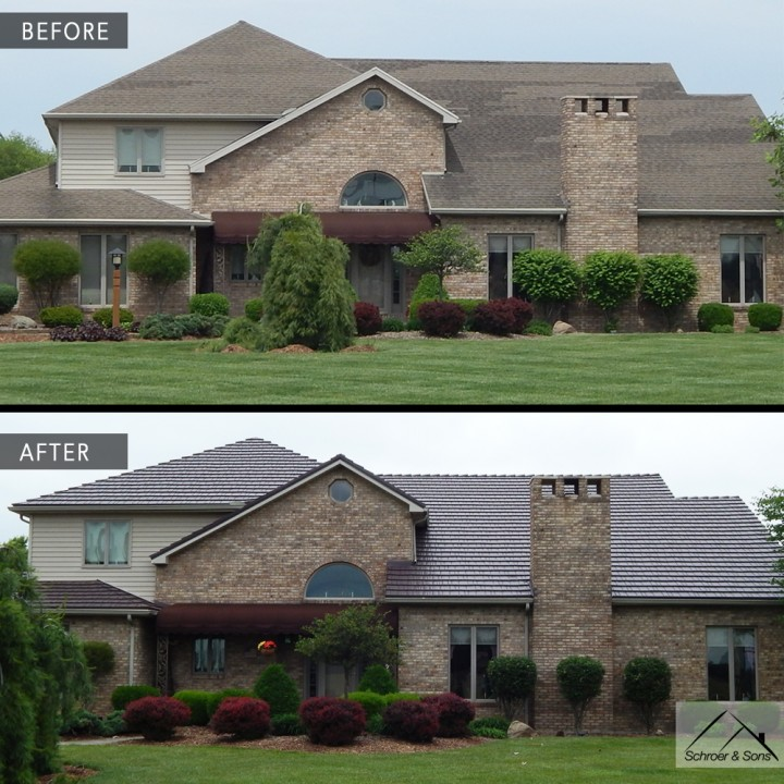 Before-After Metal Roof