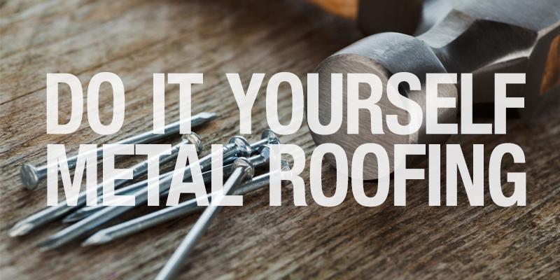 DIY Metal Roofing Install