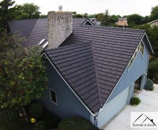 Country Manor Shake Metal Roof