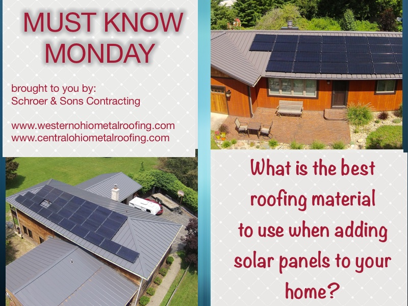 Standing Seam Metal Roofing And Solar Panels A Perfect